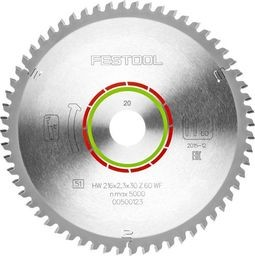 Festool Hoja de sierra especial 216x2,3x30 WZ/FA60