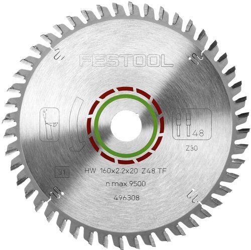 Festool Hoja de sierra especial 210x2,4x30 TF60