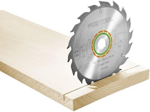 Festool Hoja de sierra estándar 160x2,2x20 W18width=