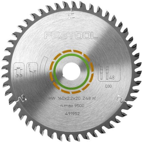 Festool Hoja de sierra de diente fino 190x2,4 FF W48