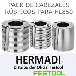 PACK DE CABEZALES PARA CEPILLO HL850