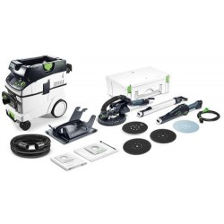 FESTOOL LIJADORA DE PARED LHS 225-IP/CTM36-SET PLANEX