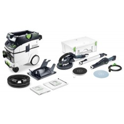 FESTOOL LIJADORA DE PARED LHS 225-SW/CTM36-SET PLANEX