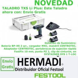 TALADRO ATORNILLADOR DE BATERÍA TXS Li 2,6-Plus