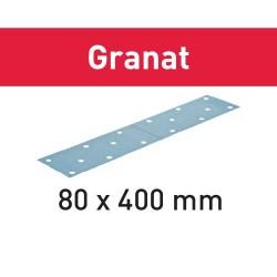 Hoja de lijar STF 80X400 P100 GR/50 Granat