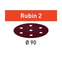 DISCO DE LIJAR STF  D90/6 P80 RU2/50 Rubin 2