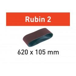 FESTOOL  BANDA DE LIJAR  L620X105-P80 RU2/10 Rubin 2