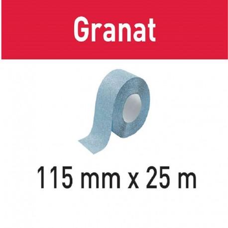 FESTOOL ABRASIVO ROLLO 115x25m P240 GR GRANAT