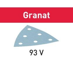 FESTOOL HOJA DE LIJAR STF V93/6 P400 GR/100 Granat