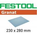 ABRASIVOS GRANAT 230 X 280 mm