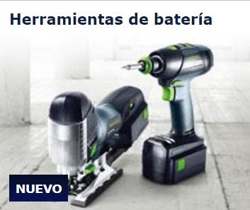 Herramientas de Batería