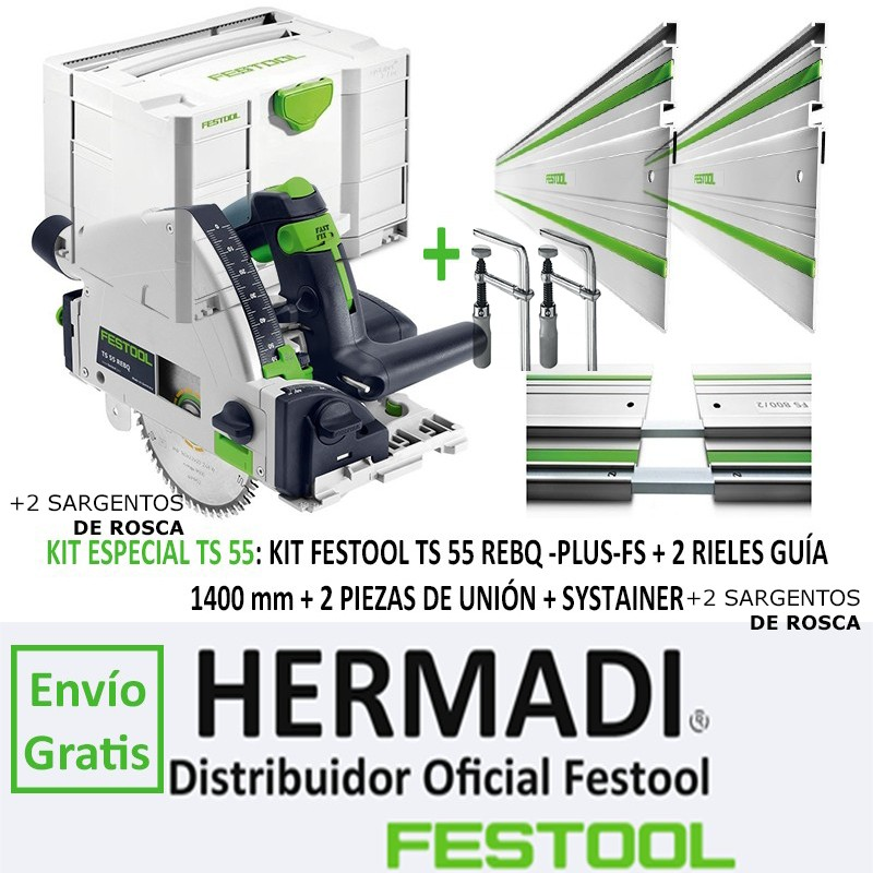 OFERTA PACKS Y KITS FESTOOL ONLINE