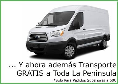 Transporte Gratis a Toda La Península. *Para Pedidos Superirores a 50€